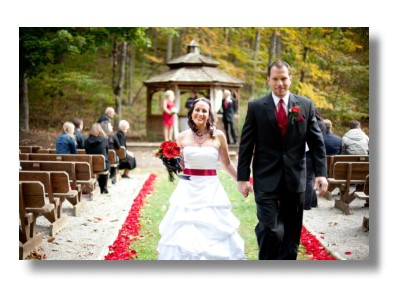 Indiana Outdoor Gazebo Weddings