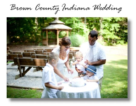 Brown County Indiana Gazebo Weddings