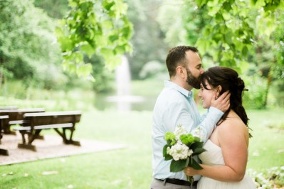 Brown County Indiana Outdoor Wedding