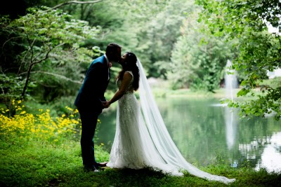 Outdoor weddings in Indiana